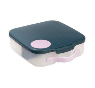 Indigo Rose - Lunchbox z Wkładem Chłodzącym - granatowo/różowy - B.BOX