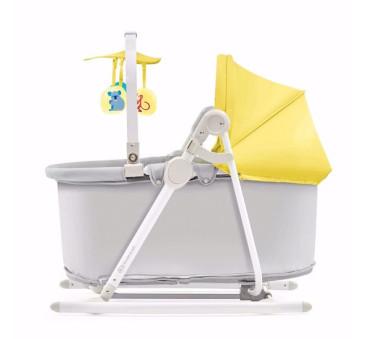 Leżaczek 5w1 UNIMO - Yellow - Kinderkraft