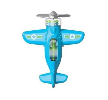 Niebieski - Sprytny Samolot - Playviators - Fat Brain Toys