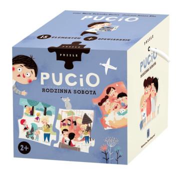 Pucio - Rodzinna Sobota - Puzzle 15 Elementów - Nasza Księgarnia
