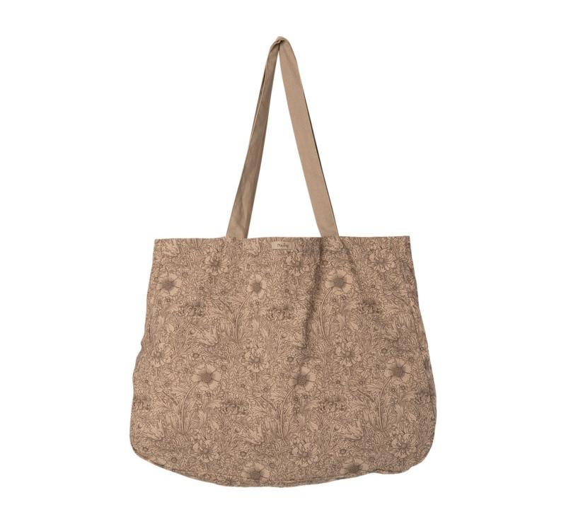 Mała Torba Na Zakupy - Tote Bag Flowers Small - Maileg