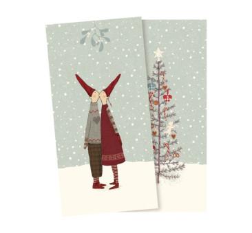 Małe Serwetki Ozdobne Christmas - Small Napkin Pixy Kiss - Maileg
