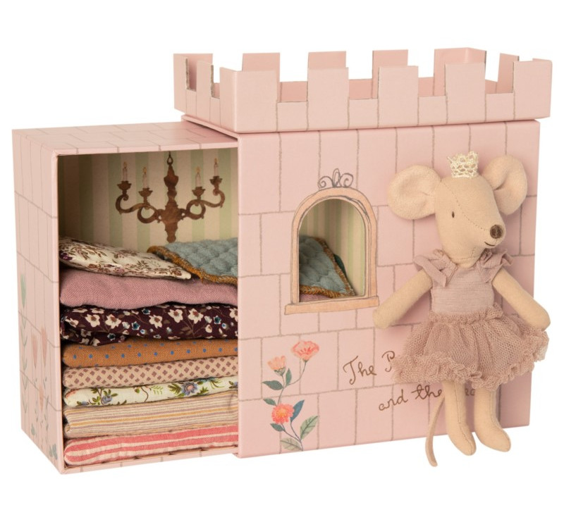 Myszka Księżniczka Na Ziarnku Grochu - Princess And The Pea - Big Sister Mouse - Maileg