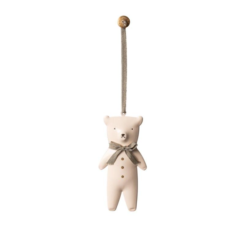 Metalowy Miś - Dekoracja Bożonarodzeniowa - Metal Ornament Teddybear - Maileg