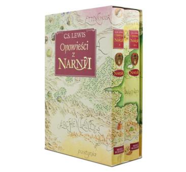 Opowieści z Narnii - Wydanie Dwutomowe w Twardej Oprawie - MEDIA RODZINA