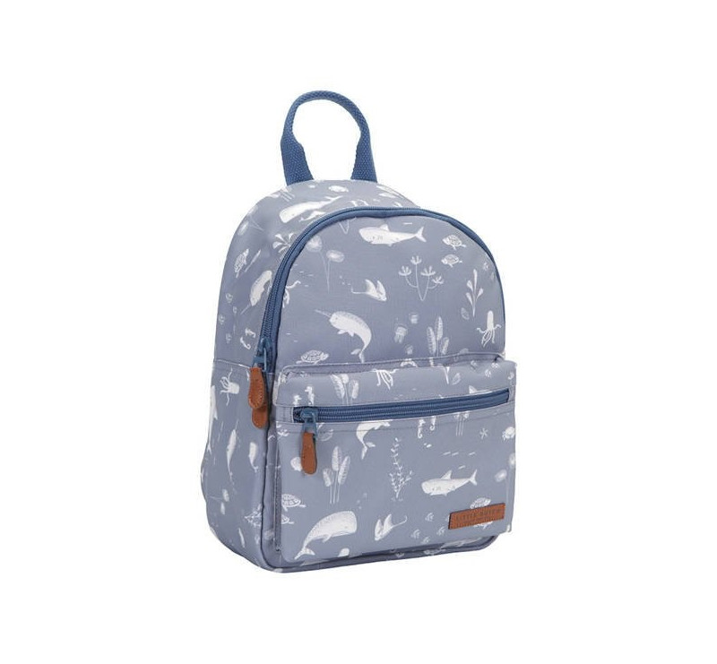 Ocean Blue Plecak Dla Dzieci - Little Dutch