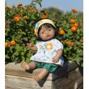 Hiszpanka 38cm - Lalka Dziewczynka Hiszpanka - Miniland Doll - Miniland