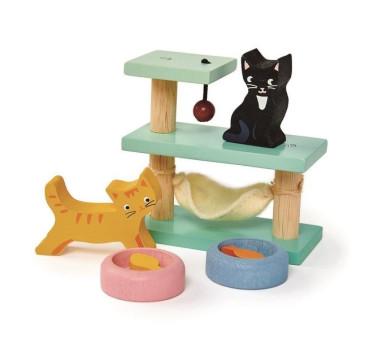 Kotki - Drewniane Figurki Do Zabawy - Tender Leaf Toys