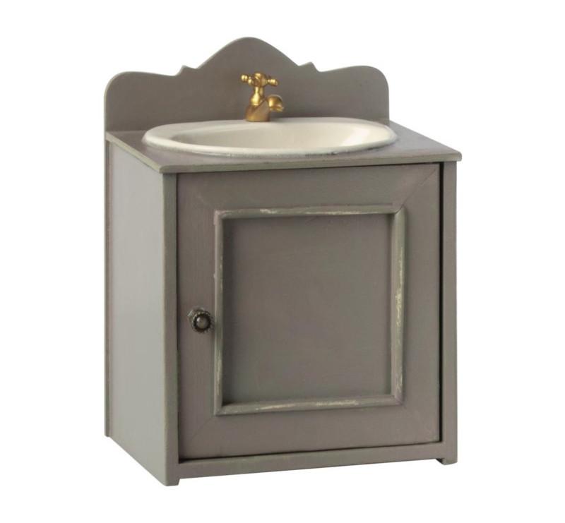 Umywalka - Miniature Bathroom Sink - Akcesoria dla Lalek - Maileg