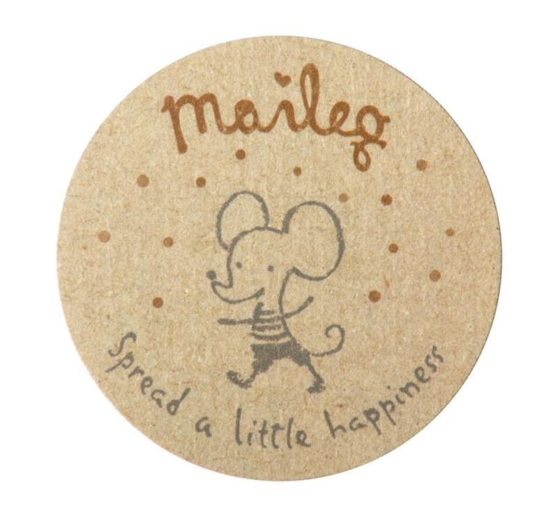 Okrągłe Naklejki - Sticker Small - Akcesoria Dla Lalek - Maileg