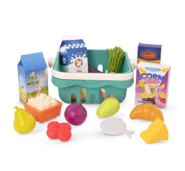 Koszyk Na Zakupy z Artykułami Spożywczymi - Freshly Picked - BTOYS