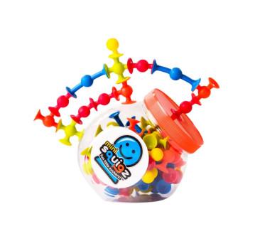 Klocki Przyssawki Squigz MINI 75 elementów - Fat Brain Toy
