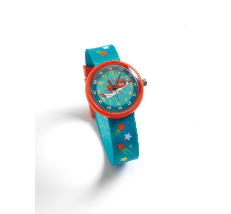 Super Bohater - Zegarek Dziecięcy Na Nadgarstek - Djeco