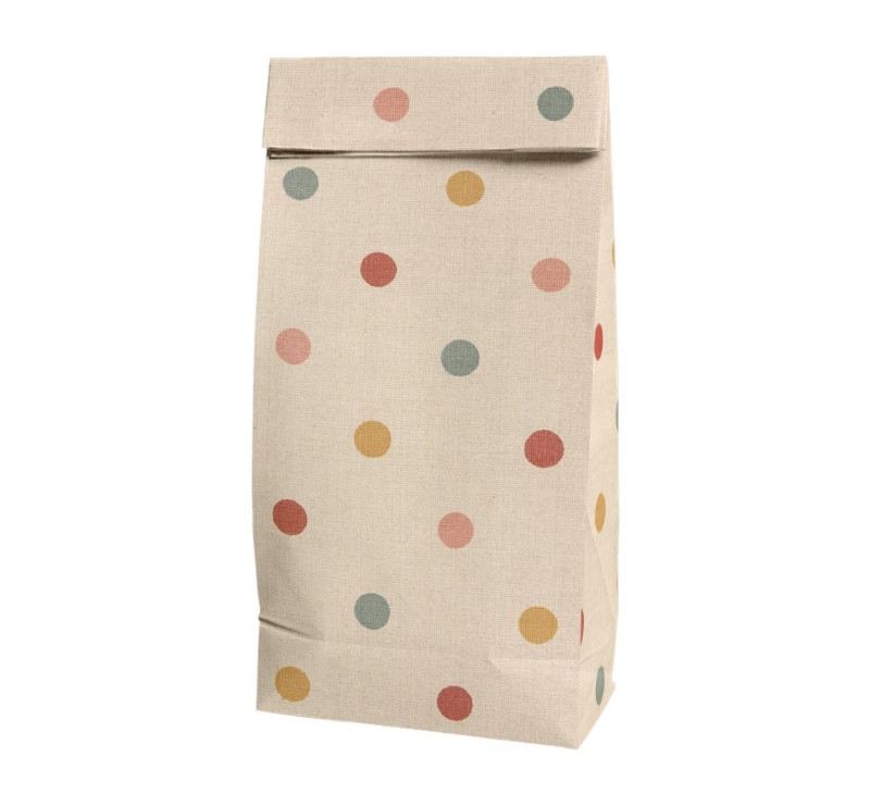 Torebka Papierowa - Small Gift Bag Multi Dots - Maileg