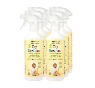 Dziecięcy płyn/spray dezynfekujący do mycia zabawek - Bentley Organic