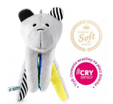 Whisbear SOFT - szumiący miś z funkcją cry sensor - Cytryna