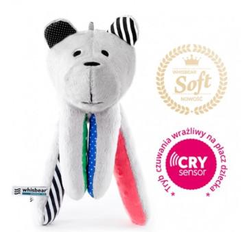 Whisbear SOFT - szumiący miś z funkcją cry sensor - Arbuz