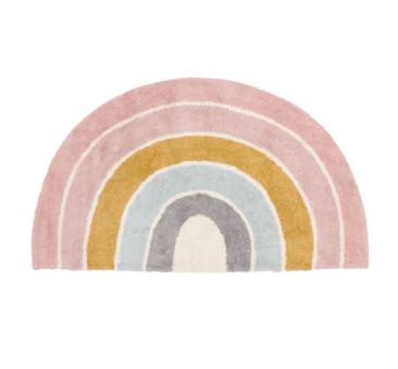 Rainbow Pink - Dywan Tęcza Do Pokoju Dziecięcego - Little Dutch