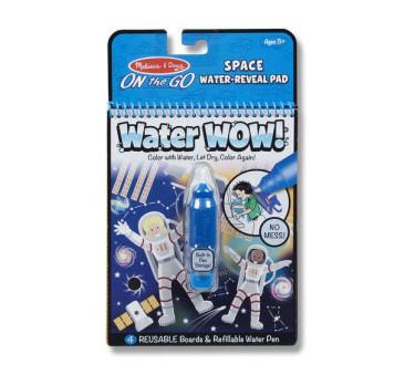 Kosmos - Malowanie Wodą - Water Wow!- Znikające Kolory - Kolorowanka Wodna - Melissa & Doug