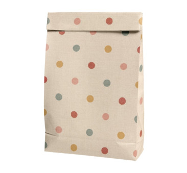 Torebka Papierowa - Gift Bag Multi Dots - Maileg