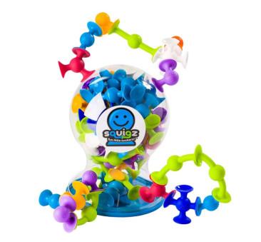 Zestaw Delux - Klocki Przyssawki Squigz - Fat Brain Toy