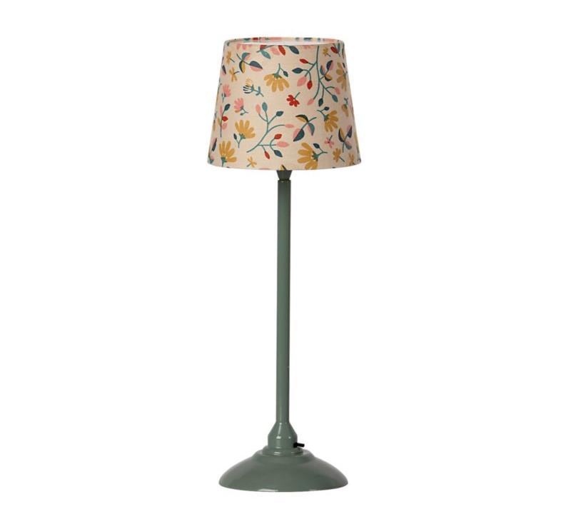 Miętowa Lampa Podłogowa - Miniature Floor Lamp Dark Mint - Rozmiar Mini - Maileg
