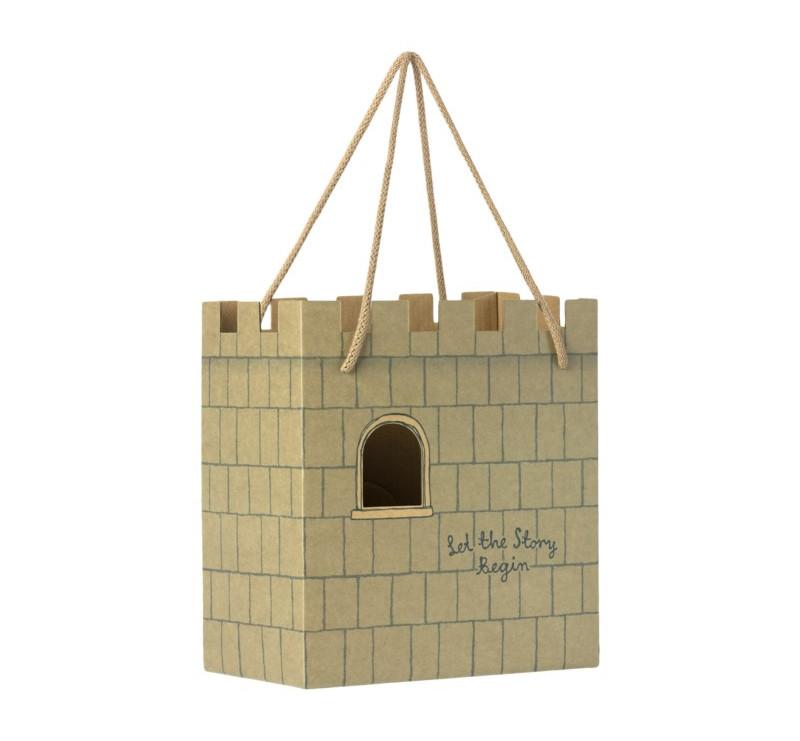 Torebka Kartonowa - Paper Bag Castle Let The Story Begin - Maileg