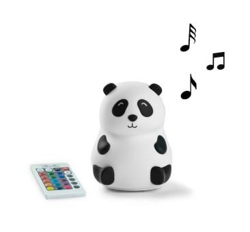 Panda Głośnik - Lampka Silikonowa - Z Głośnikiem - Rabbit & Friends