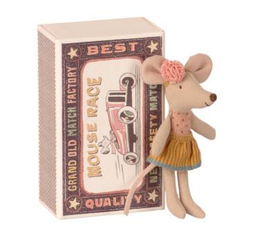 Myszka w Pudełeczku - Mouse In Matchbox - Little Sister - Maileg