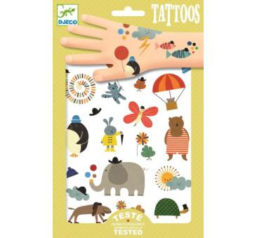 Malutkie Rzeczy - Tatuaże - Djeco