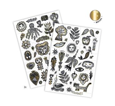 Złoty Szyk - Tatuaże - Djeco