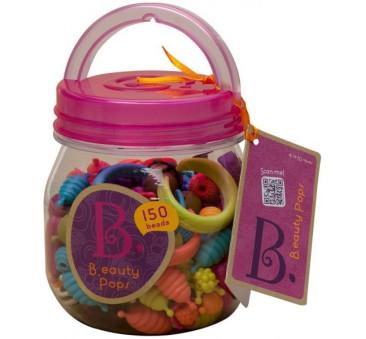 Kreatywny zestaw do tworzenia biżuterii 150 elementów - B.eauty Pops - BTOYS