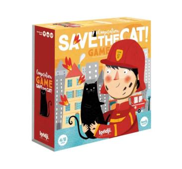 Gra Kooperacyjna Uratuj Kotka - Save The Cat - Londji
