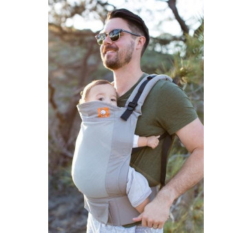 BABY TULA - nosidełko standardowe - wzór Coast Overcast