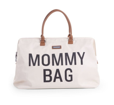 Torba podróżna Mommy Bag - kremowa - Childhome