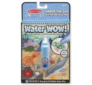 Malowanie wodą - Water Wow! - znikające kolory - kolorowanka podwodny świat - Melissa & Doug