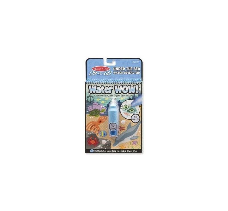 Malowanie wodą - znikające kolory - kolorowanka podwodny świat - Melissa & Doug