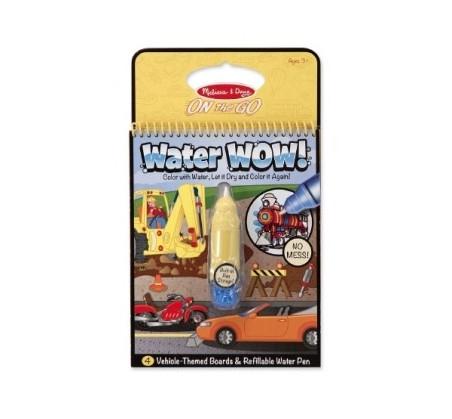 Malowanie wodą - Water Wow! - znikające kolory - kolorowanka pojazdy - Melissa & Doug