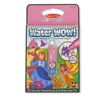 Malowanie wodą - znikające kolory - kolorowanka wróżki - Melissa & Doug