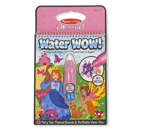 Wróżki - Malowanie Wodą - Water Wow!- Znikające Kolory - Kolorowanka Wodna - Melissa & Doug