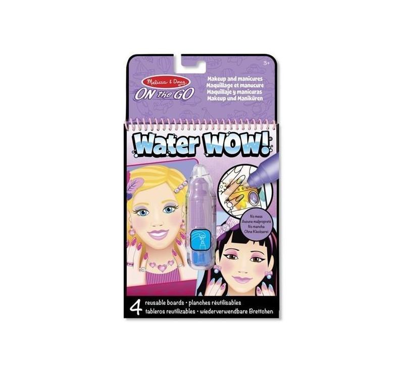 Malowanie wodą - znikające kolory - kolorowanka makijaż i manicure - Melissa & Doug