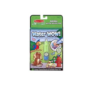 Zwierzęta - Malowanie Wodą - Water Wow!- Znikające Kolory - Kolorowanka Wodna - Melissa & Doug