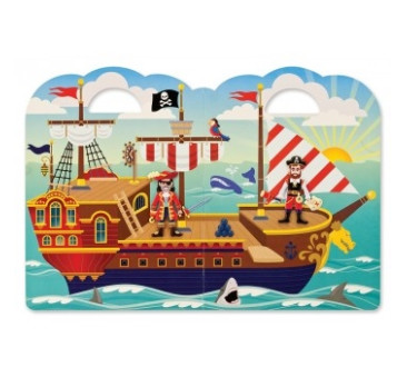 Naklejki Wielokrotnego Użytku 3D Piraci - Melissa & Doug