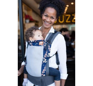BABY TULA - nosidełko standardowe - wzór Coast Foxgloves