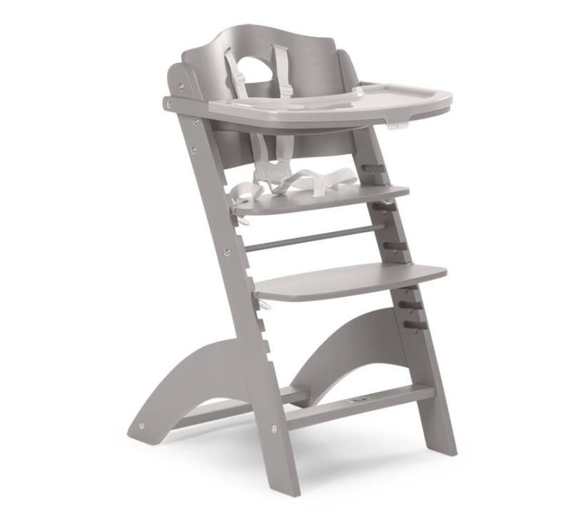 Krzesełko Drewniane Do Karmienia Dla Niemowląt Lambda 2 Jasny