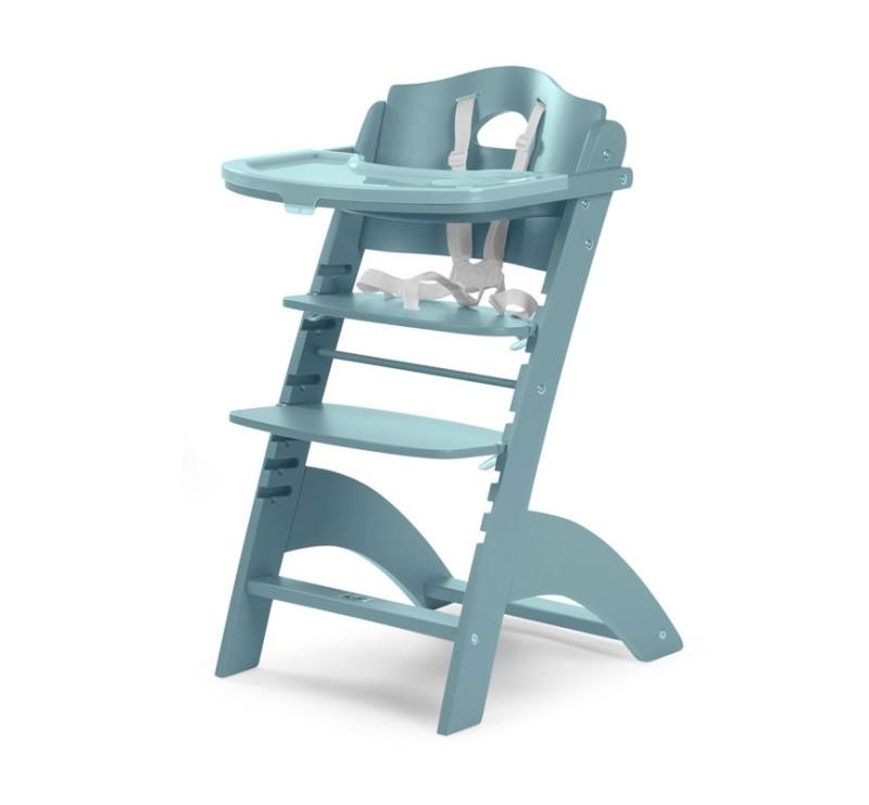 Bardzo dobry Krzesełko drewniane do karmienia dla niemowląt Lambda 2 AP39