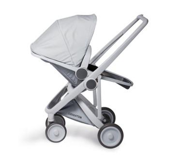 Wózek Greentom Upp Reversible - grey - grey / szaro - szary