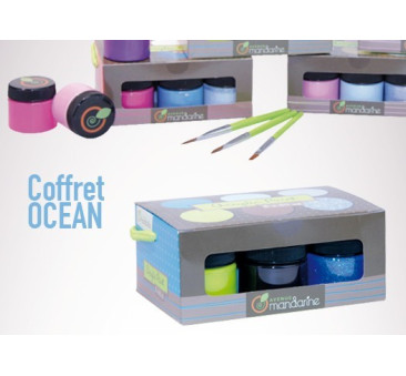 """Zestaw farb akrylowych 6x30 ml """"Ocean"""""""