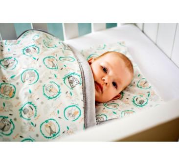 Jasiek dla niemowląt (wzór: sowy)