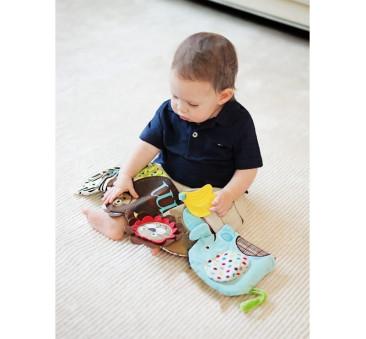 KSIĄŻECZKA ALPHABET miękka książka dla niemowląt SKIP HOP